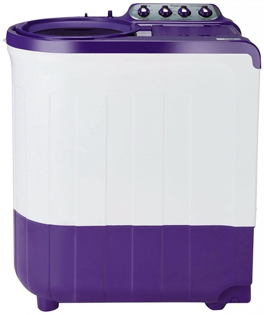 Whirlpool 7.5 kg 5 Star Semi-Automatic Top Loading Washing Machine with Supersoak technology