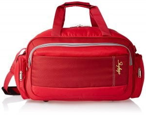 Skybags Cardiff Polyester 55 Cms Red Travel Duffle