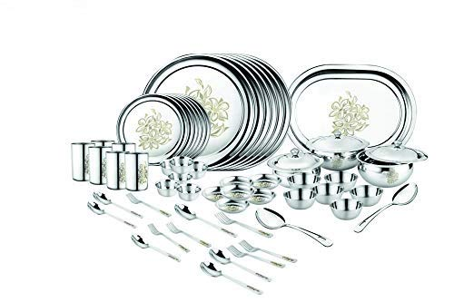 Classic Essentials Stainless Steel Glory Dinner Set