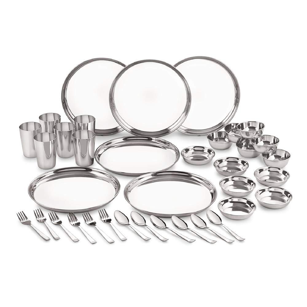Stainless Steel Premium Dinner Set